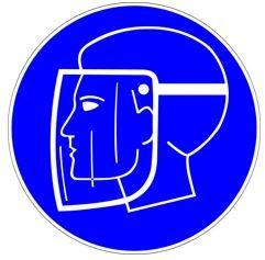 Piktogramm Gesichts-PSA